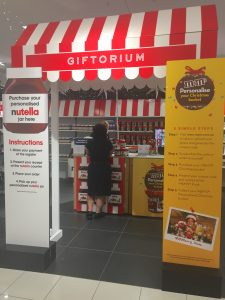 Giftorium at Myer