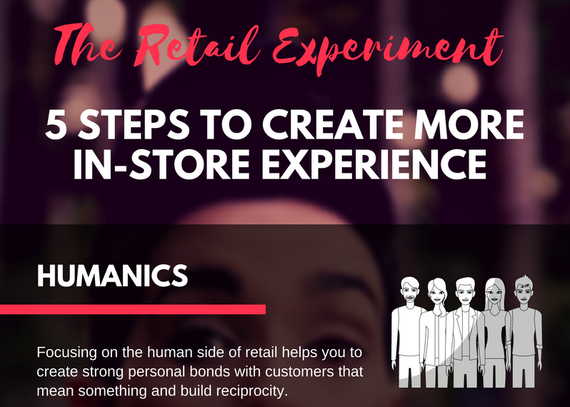 5 Steps to create more in-store experience, experiential retailing, customer experience