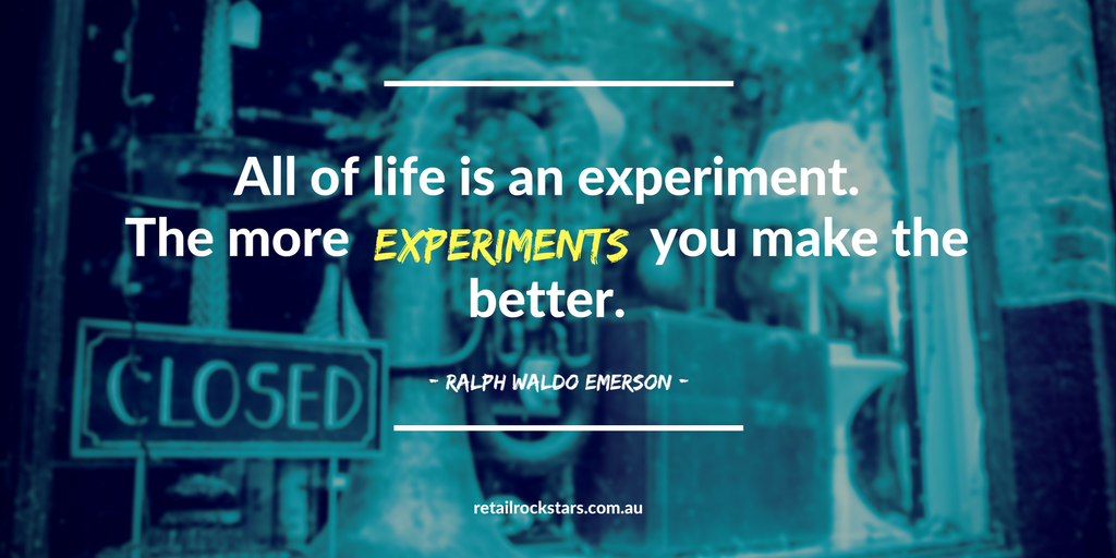 Quote about Experiments