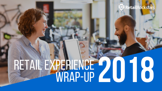 retail experience, in-store experience, customer service, winners of 2018 retail, losers of 2018 retail