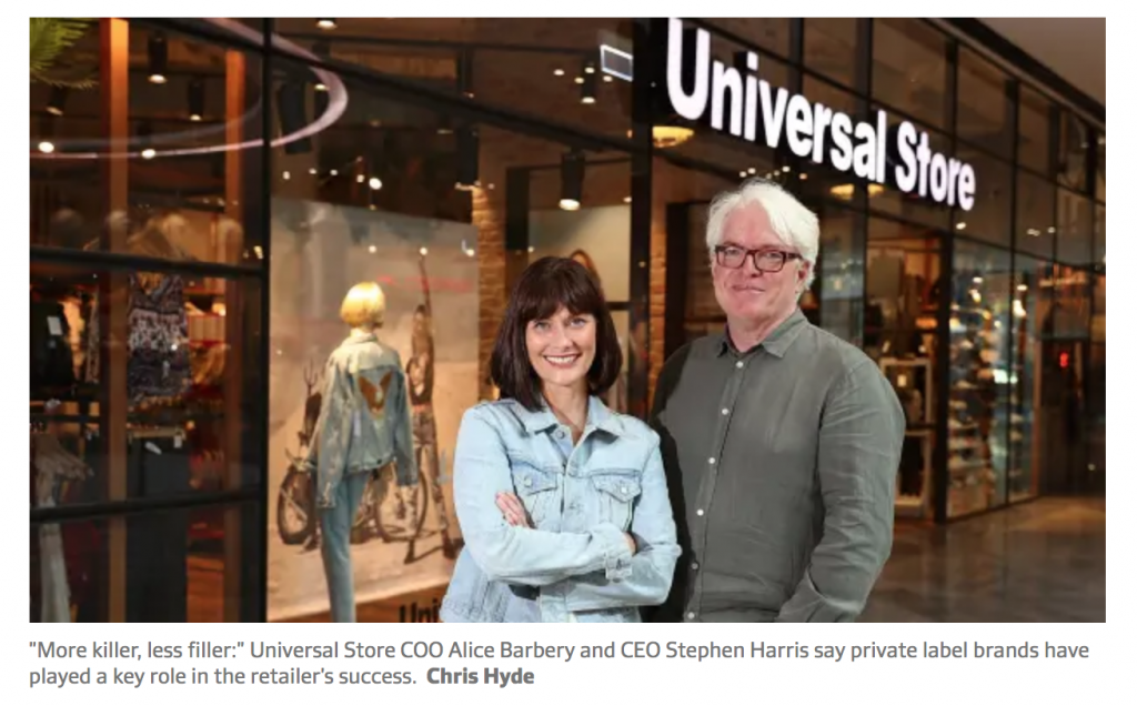 retail experience, exclusive brands, private brands, in-store experience
